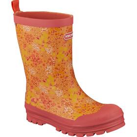 Viking Footwear Mimosa - Bottes en caoutchouc Enfant - jaune/rouge